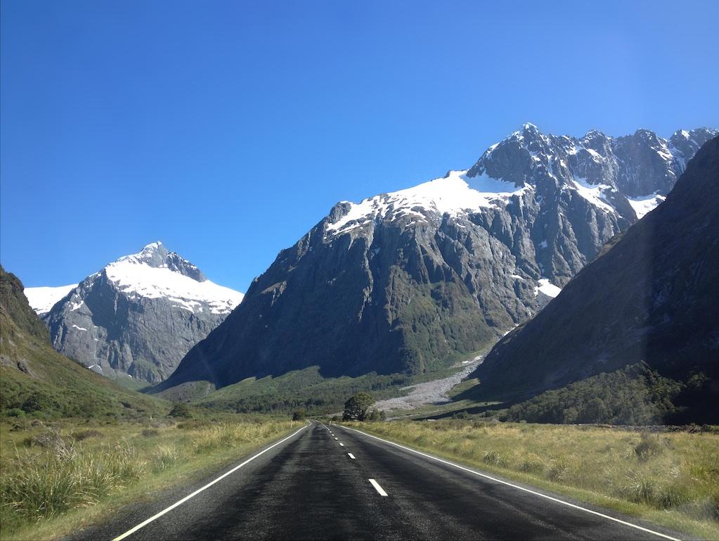 Milford Road, Nova Zelândia