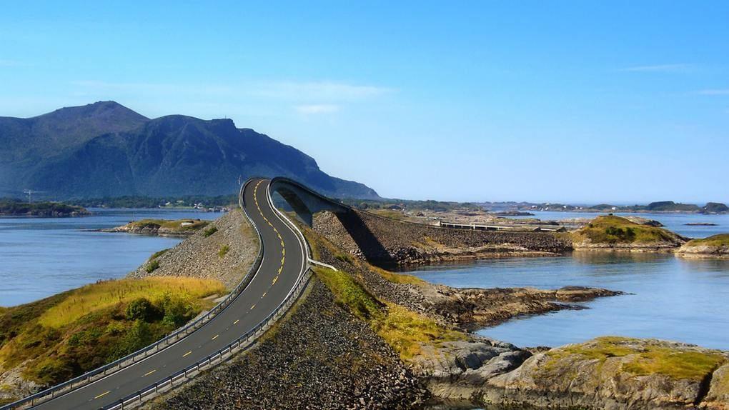 Atlantic Ocean Road, Noruega